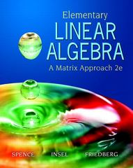 Elementary Linear Algebra 2nd edition 9780131871410 0131871412