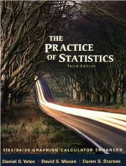 The Practice of Statistics 3rd edition 9780716773092 0716773090