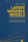 Latent Variable Models 4th edition 9780805849103 0805849106
