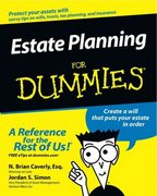 Estate Planning For Dummies 1st edition 9780764555015 0764555014