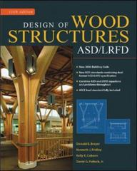 Design of Wood Structures-ASD/LRFD 6th Edition 9780071455398 0071455396