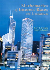 Mathematics of Interest Rates and Finance 1st edition 9780130461827 0130461822