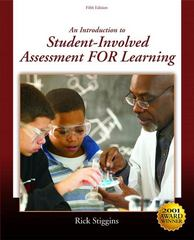 An Introduction to Student-Involved Assessment for Learning 5th edition 9780136133957 0136133959