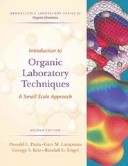 Introduction to Organic Laboratory Techniques 2nd edition 9780534408336 0534408338