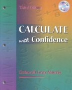 Calculate With Confidence 3rd edition 9780323013499 032301349X