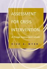 Assessment for Crisis Intervention 1st Edition 9780534362324 053436232X