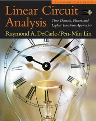 Linear Circuit Analysis 2nd Edition 9780195136661 0195136667