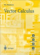 Vector Calculus 1st Edition 9783540761808 3540761802