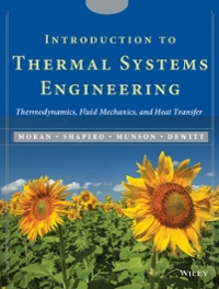 Introduction to Thermal Systems Engineering 1st Edition 9780471204909 0471204900