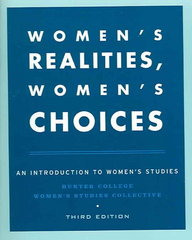 Women's Realities, Women's Choices 3rd edition 9780195150353 019515035X