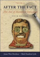 After the Fact, Volume II, with Primary Source Investigator CD 5th edition 9780072996111 0072996110
