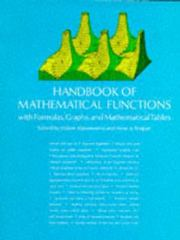 Handbook of Mathematical Functions 9th Edition 9780486612720 0486612724