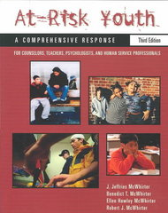 At-Risk Youth: A Comprehensive Response 3rd Edition 9780534548711 0534548717