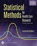 Statistical Methods for Health Care Research 5th edition 9780781748407 0781748402