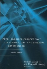 Psychological Perspectives on Lesbian, Gay, and Bisexual Experiences 2nd Edition 9780231124133 0231124139