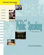 "Cengage Advantage Books: Essentials of Public Speaking (with SpeechBuilder Expressâ""¢ and InfoTrac) 3rd Edition 9780534647803 0534647804"