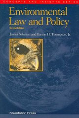 Environmental Law and Policy 2nd Edition 9781599410883 1599410885