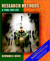 Research Methods: A Tool for Life with Research Navigator 1st Edition 9780205327713 0205327710