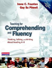 Teaching for Comprehending and Fluency 1st Edition 9780325003085 0325003084