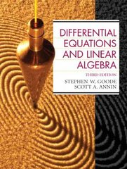 Differential Equations and Linear Algebra 3rd edition 9780130457943 0130457949
