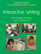 Interactive Writing 0 9780325002095 0325002096