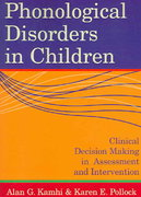 Phonological Disorders in Children 1st Edition 9781557667847 1557667845