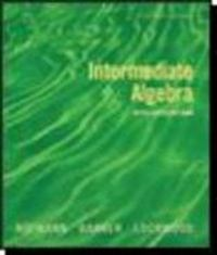 Intermediate Algebra with Applications 7th edition 9780618803682 0618803688