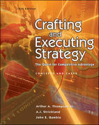 Crafting and Executing Strategy 14th Edition 9780072962215 0072962216