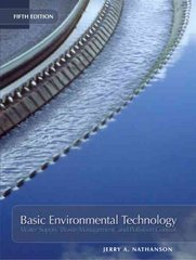 Basic Environmental Technology 5th edition 9780131190825 0131190822
