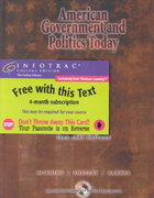 American Government and Politics Today, 2003-2004 Edition (with InfoTrac and CD-ROM) 11th edition 9780534592561 0534592562