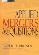 Applied Mergers and Acquisitions 1st edition 9780471395058 0471395056