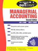 Schaum's Outline of Managerial Accounting 2nd edition 9780070580411 0070580413