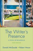 The Writer's Presence 5th edition 9780312433864 0312433867