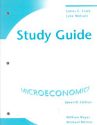 Study Guide for Boyes/Melvin's Microeconomics, 7th 7th edition 9780618831937 0618831932
