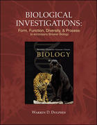Biological Investigations Lab Manual t/a Brooker Biology 1st edition 9780073323992 0073323993