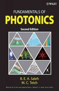 Fundamentals of Photonics 2nd Edition 9780471358329 0471358320