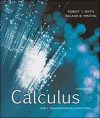 Calculus: Early Transcendental Functions 3rd edition 9780073229737 0073229733