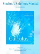 Student Solutions Manual for Calculus: Early Transcendental Functions 3rd edition 9780072869576 0072869577
