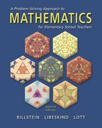 A Problem Solving Approach to Mathematics for Elementary School Teachers 7th edition 9780201347302 020134730X