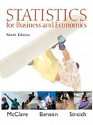 Statistics for Business and Economics 9th edition 9780130466419 0130466417