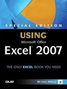 Special Edition Using Microsoft Office Excel 2007 1st edition 9780789736116 078973611X