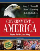 Government in America 12th edition 9780321434289 0321434285
