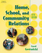 Home, School, & Community Relations 5th edition 9780766863071 0766863077