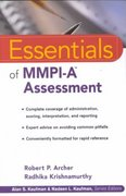 Essentials of MMPI-A Assessment 1st Edition 9780471398158 0471398152
