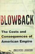 Blowback 1st edition 9780805062380 0805062386