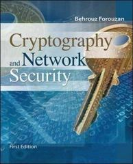 Cryptography and Network Security 0th edition 9780072870220 0072870222