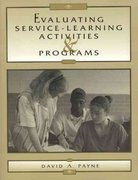 Evaluating Service-Learning Activities and Programs 0 9780810837478 0810837471