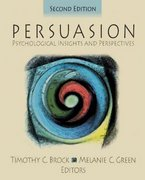 Persuasion 2nd Edition 9780761928096 076192809X