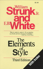 The Elements of Style 3rd edition 9780205191581 0205191584