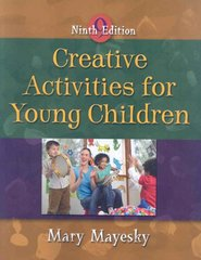 Creative Activities for Young Children 9th Edition 9781428321809 1428321802